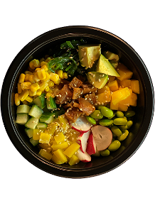Foto Vegetarisch Pokebowl